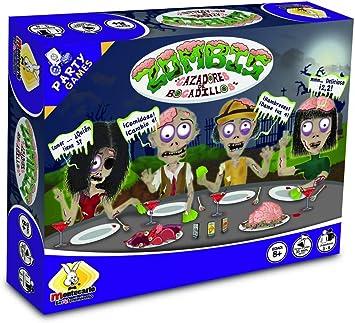 Montecarlo Entretenimiento Zombis Cazadores de Bocadillos - Zombies Snack Hunters (versión española): Amazon.es: Juguetes y juegos