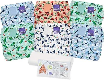 Bugs Life b miosoft Reusable Nappy Set Size 2 Bambino Mio 9kgs+