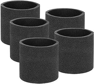 juman Cleaner Sponge Filter, Washable Reusable Foam Filter Replacement Filter Foam Suitable for Shop-Vac Vacuum Cleaner