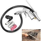 TOOGOO Air Sandblaster Pistolet a jet de sable + Buses + Connecteur + Trousse a outils