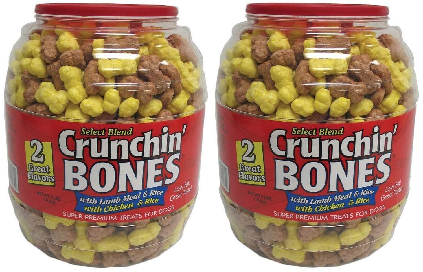 Sunshine Mills Crunchin Bones Barrel for Dogs, 2-Pound
