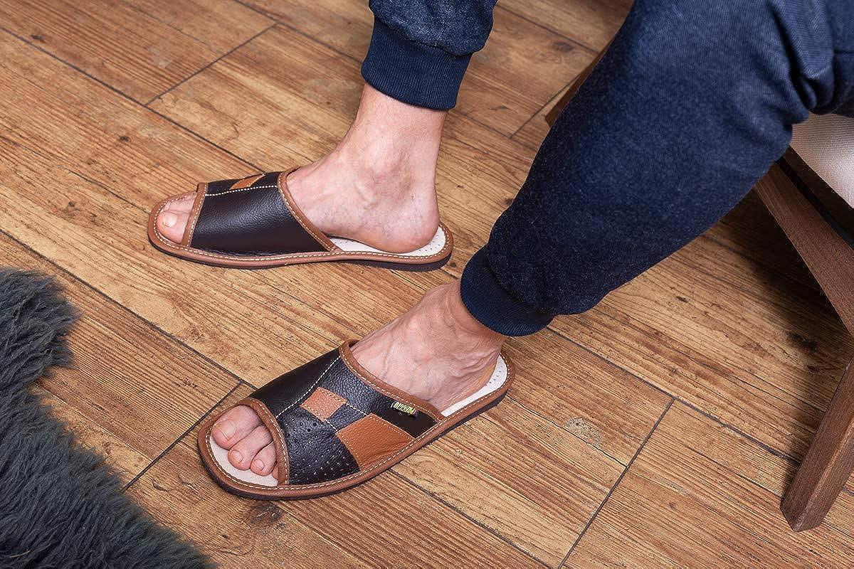 Compra Tu Propia La Mejor Compra Aberdeen Apreggio Zapatillas De Cuero para Hombre Leich Natural 100% Cuero Producto Hecho a Mano Sólida Cómodo Negro RIAb6y c0h77Z GJWiub