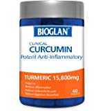 Bioglan Clinical Curcumin Potent Anti-Inflammatory , 60 Tablets