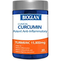 Bioglan Clinical Curcumin Tablets, 0.12 Count