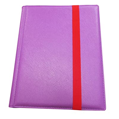 Binder: Dex 9-Pocket Purple: Toys & Games