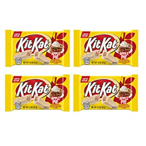 Kit Kat Apple Pie Limited Edition Pack of 4 (1.5 Oz/Bar)