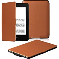 Amazon Kindle Paperwhite Case is the lightest and most advanced leather smart case for all versions before 2017 (not for…