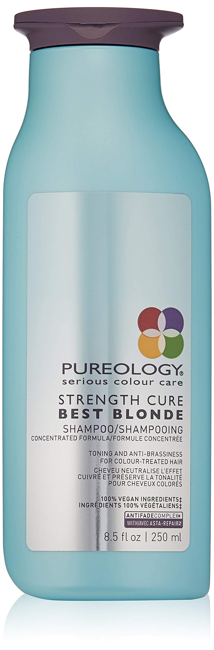 Pureology Strength Cure Best Blonde Purple Shampoo, 8.5 Fl Oz by Pureology