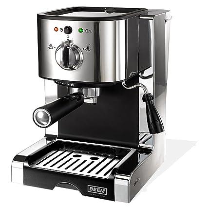 Beem Siebträgermaschine Espressomaschine Perfect Ultimate Silver