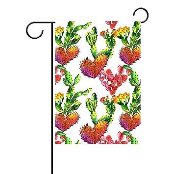 ALAZA Dekorative Tropische Pflanzen Cactus Baum, Garten-, 12 x 18 cm ...