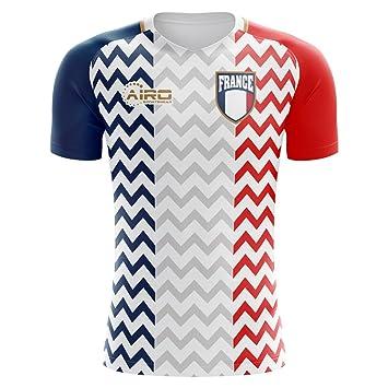19388f0f2 Airo Sportswear 2018-2019 France Away Concept Football Soccer T-Shirt  (Kids)  Amazon.co.uk  Sports   Outdoors
