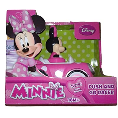 Disney's Minnie Mouse Push and Go Racer Car: Toys & Games