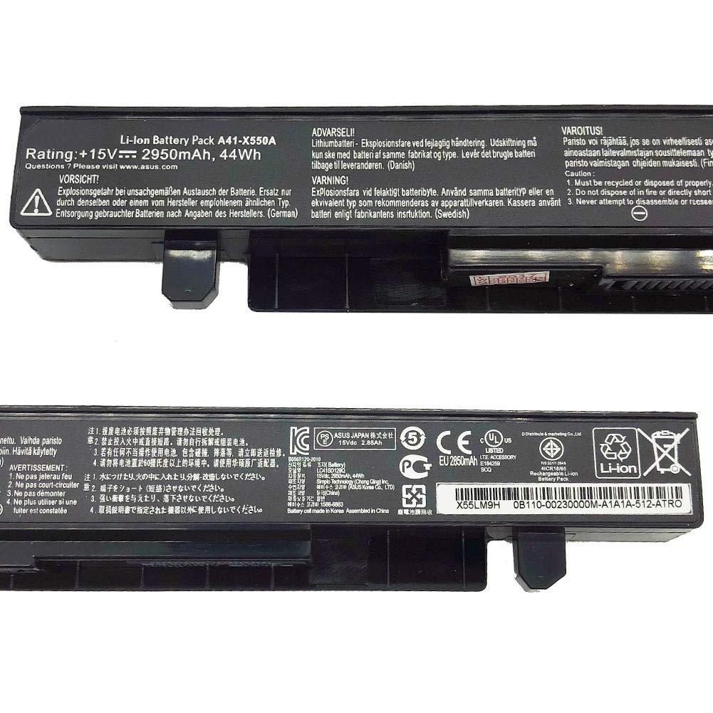 A41-X550A Batería para ASUS X550CA X550LB A450 A550 F450 F550 ...