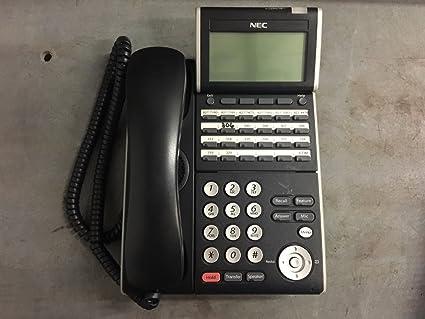 amazon com nec dlv xd z y bk dtl 24d 1 bk tel black telephone rh amazon com nec dlv(xd)z-y(bk) phone manual nec dt300 series dlv(xd)z-y(bk) manual
