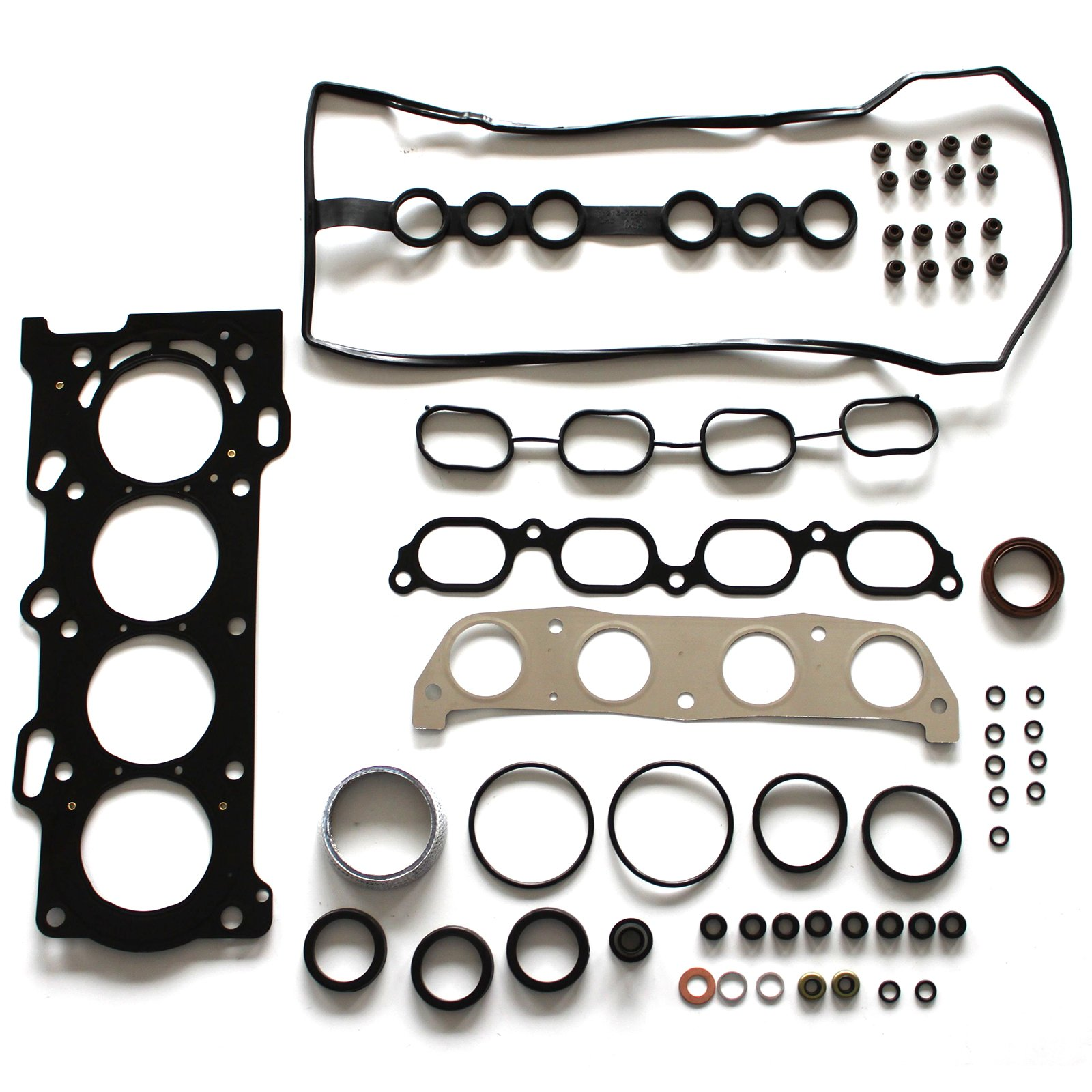SCITOO MLS Cylinder Head Gasket Set Fit 1998-2008 Toyota Corolla Celica GT Chevrolet Pontiac Vibe 1.8L