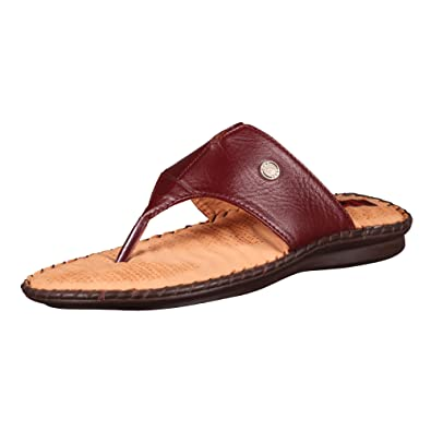 2405259bf0dc97 1 WALK Comfortable Leather DR Sole Women-Flats Sandals Fancy WEAR Party WEAR Original Casual  Footwear-Maroon P850A-42  Buy Online at Low Prices in India ...