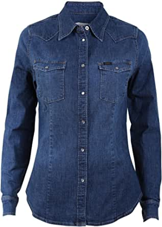 Lee Slim Western Blusa para Mujer