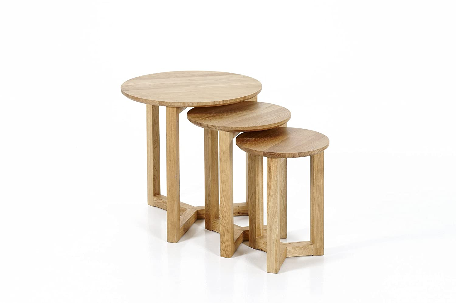 ABC Home Tables gigognes Style scandinave Naturel
