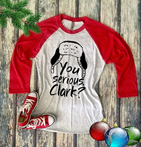 e98ccd514 Image Unavailable. Image not available for. Color: You Serious Clark Shirt, Griswold  Christmas Vacation Shirt, Funny ...
