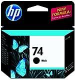 HP 74 Ink Cartridge, Black