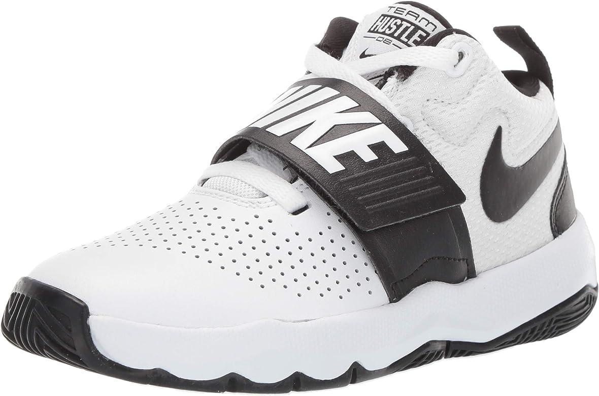 NIKE Team Hustle D 8, Zapatos de Baloncesto Unisex Niños, Blanco ...