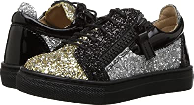 942a8f785ba75 Amazon.com: Giuseppe Zanotti Kids Baby Girl's Glitter Sneaker (Toddler)  Gold 21 M EU: Shoes