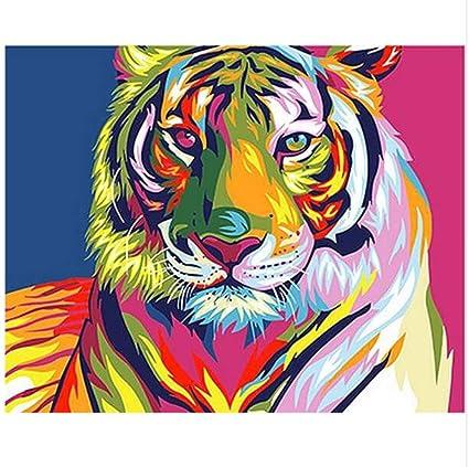 Liweixky Fai Da Te Pittura Digitale Con Numeri Dipinti Testa