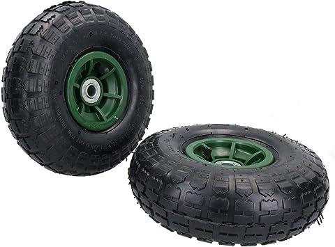 Carretilla para sacos neumático / Jardín rueda de carreta par 10