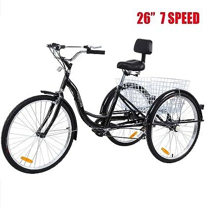 Amazon.com: Iglobalbuy bicicleta de crucero para adultos de ...