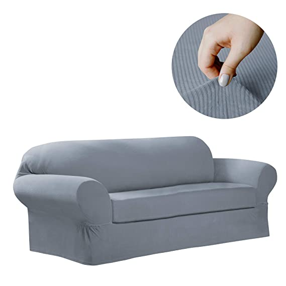 MAYTEX Collin Stretch - Funda para sofá, Azul, Sofa: Amazon ...