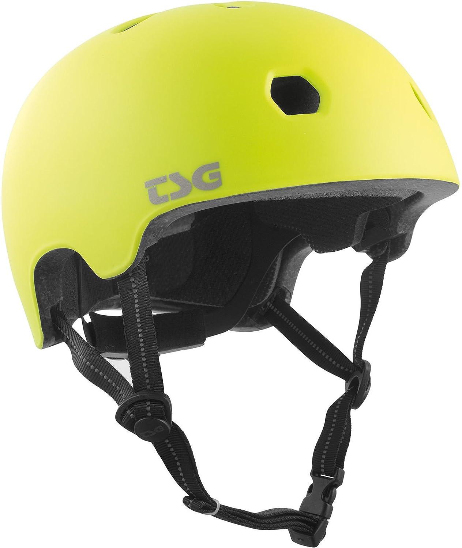 TSG Kinder Meta Solid Color Helm Satin Acid Yellow XXS/XS TSGA5|#TSG 750123