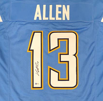 1a3a7905 Los Angeles Chargers Keenan Allen Autographed Powder Blue Jersey ...