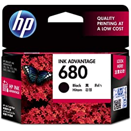 HP 680 Ink Advantage Cartridge  Black  Ink Cartridges