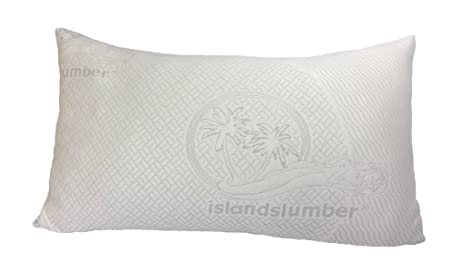 Amazoncom Ultra Soft Luxury Bamboo Shredded Memory Foam Pillow