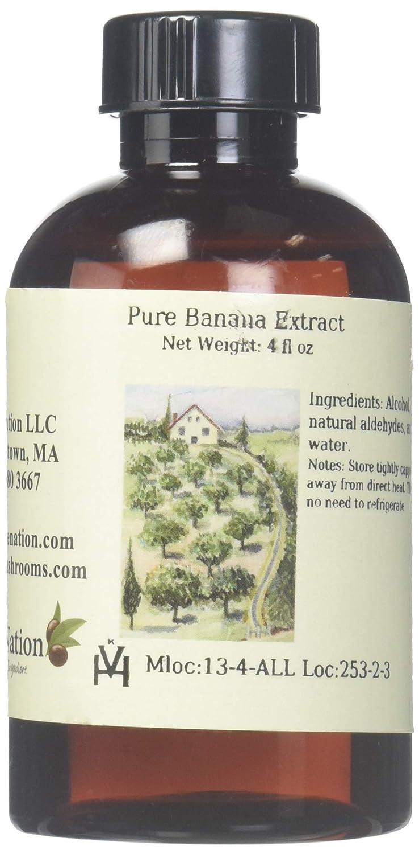 OliveNation Pure Banana Extract, 4 Ounce