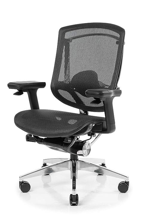 NEUE NeueChair Silver | Silla ergonómica de Oficina para ...