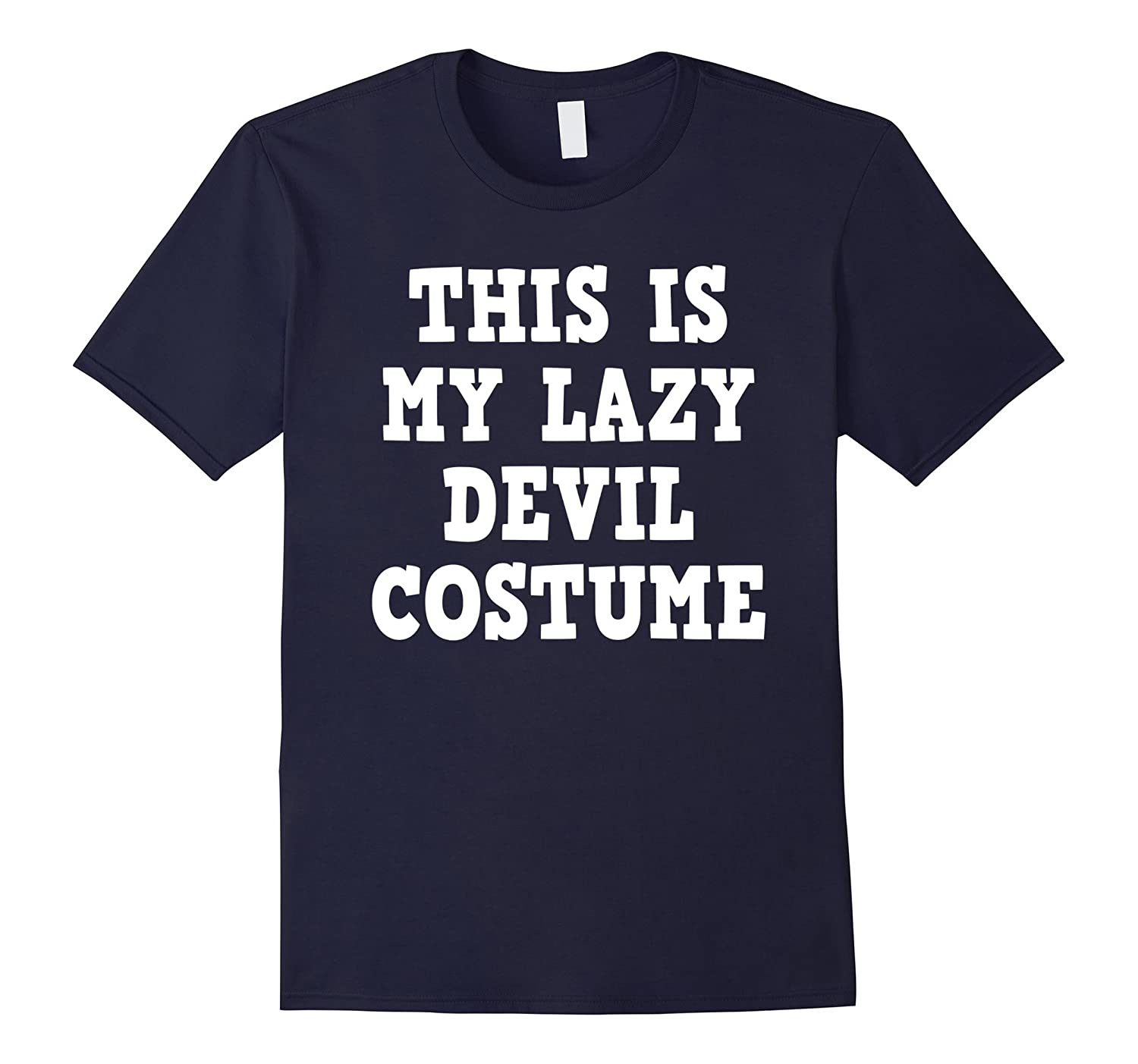 Halloween Devil Demon Costume Funny Tshirt - Men Women Kids-T-Shirt