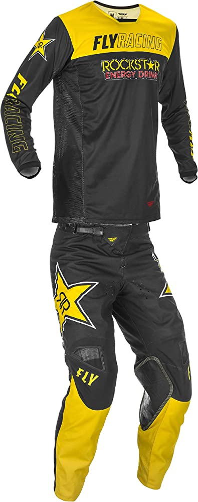 Fly Racing Mens Orange//Black//White Kinetic K120 Dirt Bike Pants MX ATV 2020
