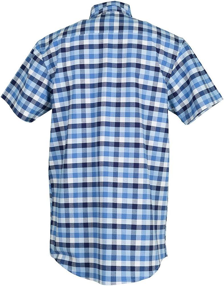 Planam - Camisa Country de manga 1/4 - Para días calurosos ...