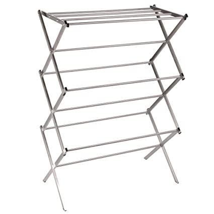 Amazon.com: Household Essentials Folding X-Frame Clothes Dryer ...