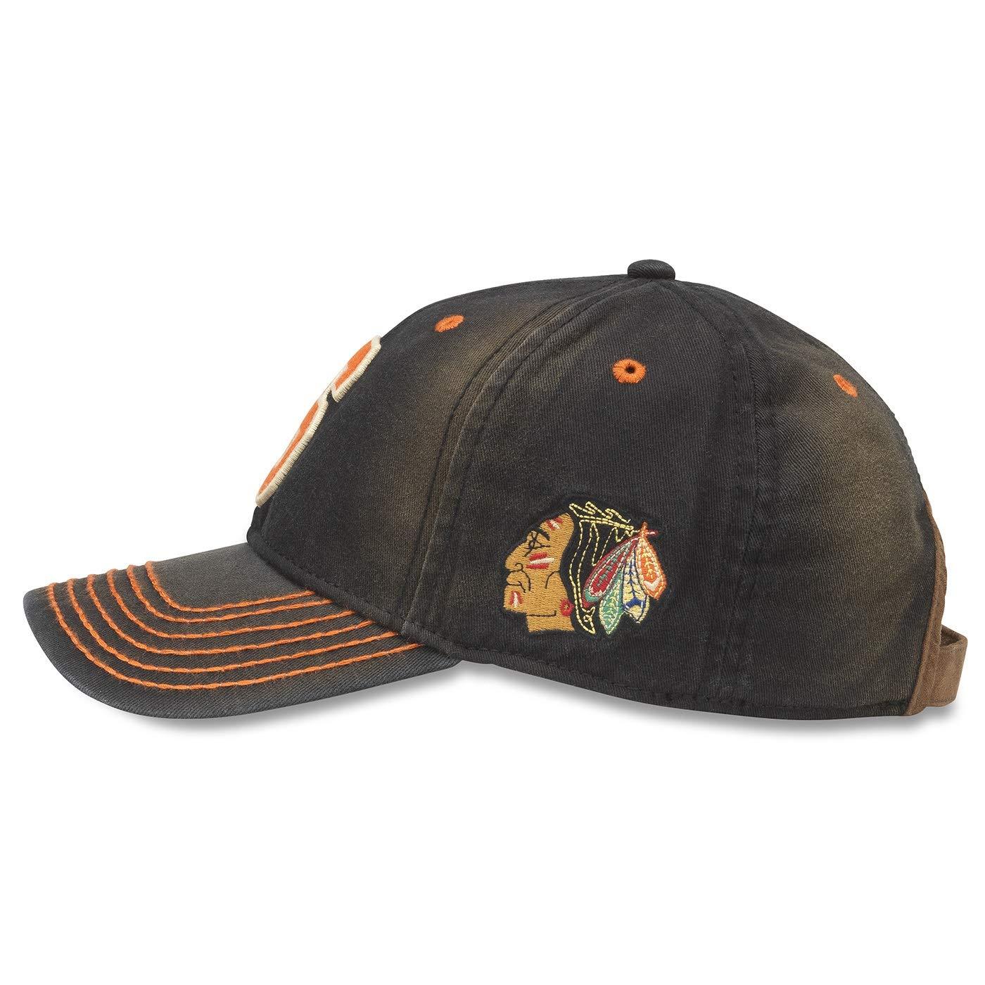 American Needle NHL Original 6 Team U2 Squared Distressed Washed Adjustable Hat