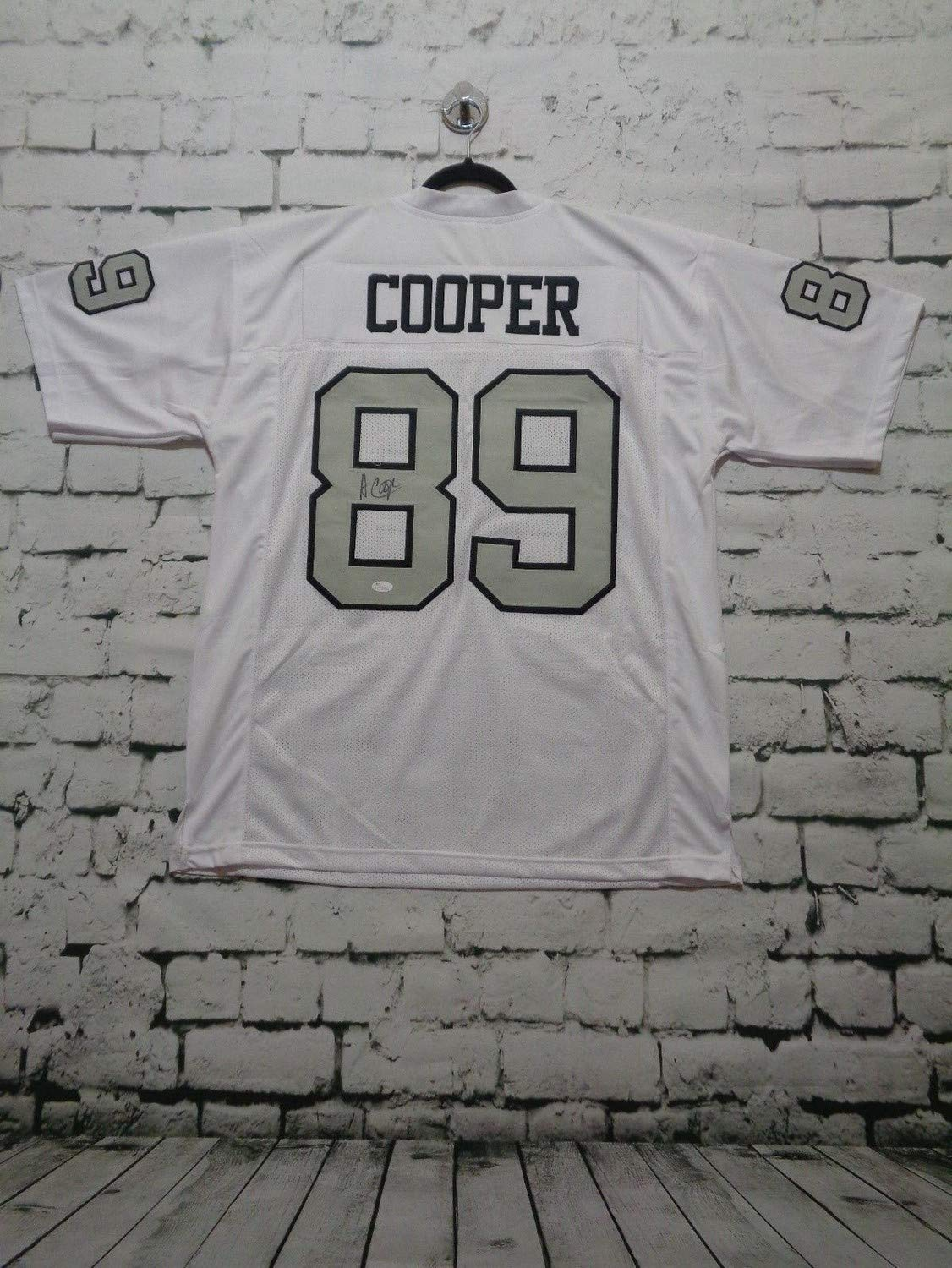 super popular 850b1 58171 Amari Cooper Autographed Signed Pro Style White Color Rush ...