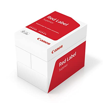 Canon Alemania Red Label superior Negocios Papel, 5 x 500 ...