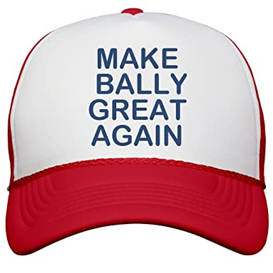 Amazon.com  Make Bally Great Again  Snapback Trucker Hat  Clothing ba2f6108a2da