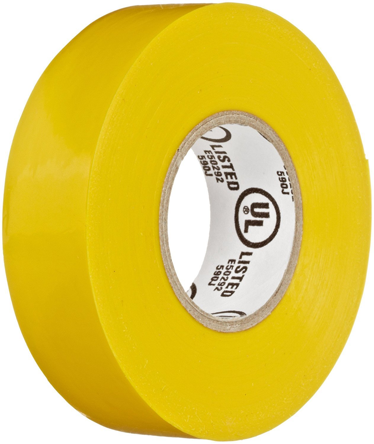 Yellow 0.75 Width 60/' Length 0.007 Thick NSi Industries EWG 7060-4 60 Length General Purpose Easy Wrap Electrical Tape 0.007 Thick 0.75 Width