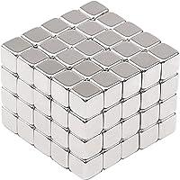 Aimants de Néodyme, Magnetpro 100 pièce Aimants décoratifs pour Réfrigérateur, Tableaux Magnétiques, Tableau Blanc, Arts l'artisanat loisirs et organisation de bureau | 5 x 5 x 5 mm