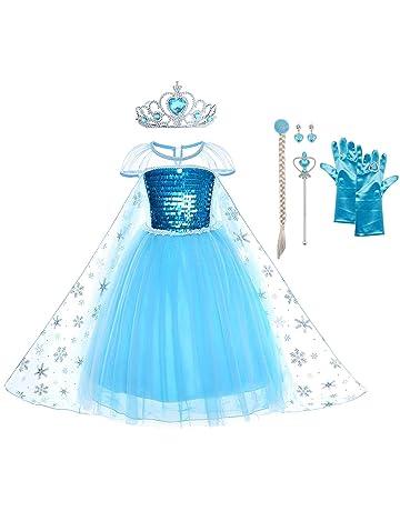 URAQT Reine des Neiges Elsa Costume et Accessoires Gants