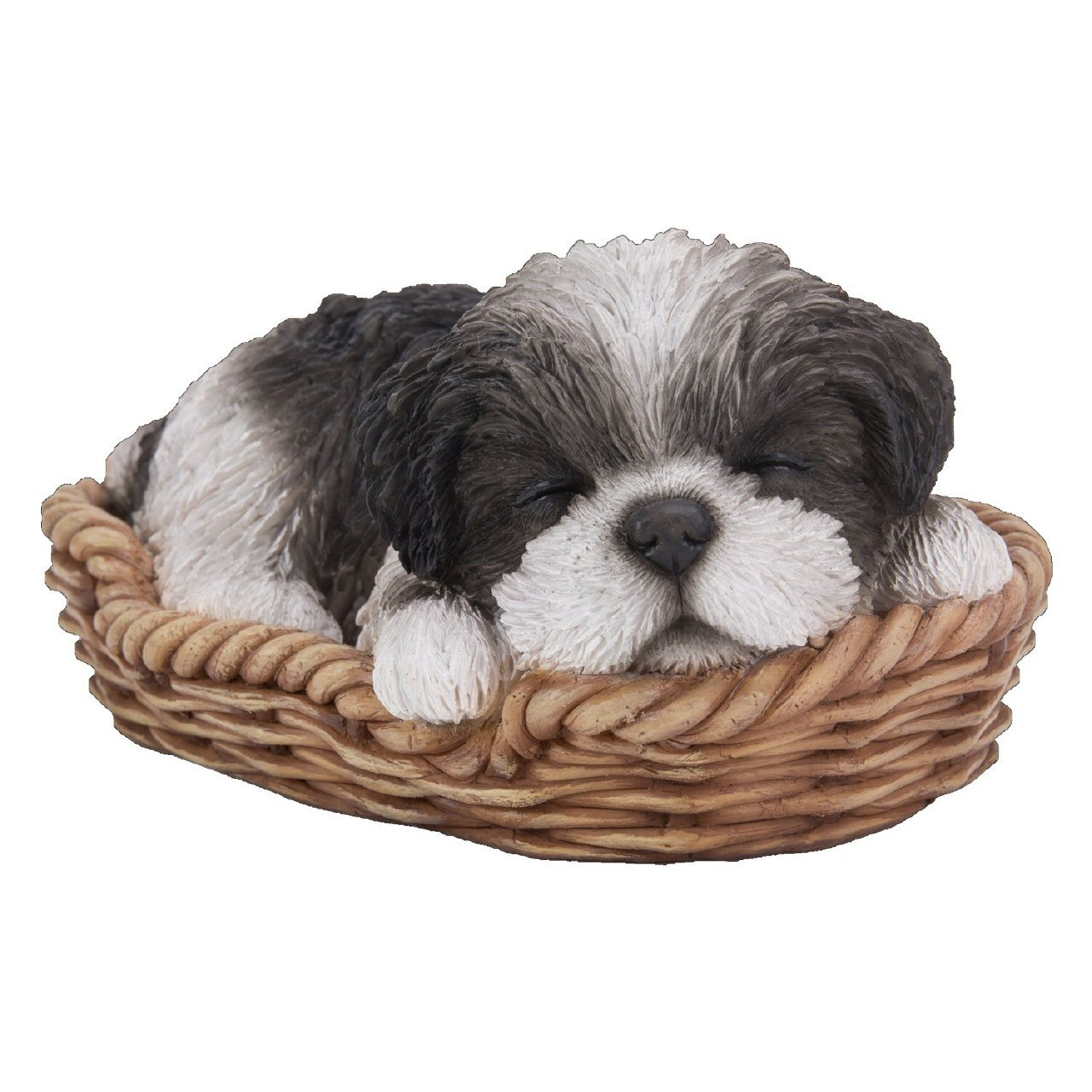 Sleeping Pet Pals Vivid Arts Black Shih Tzu Pup