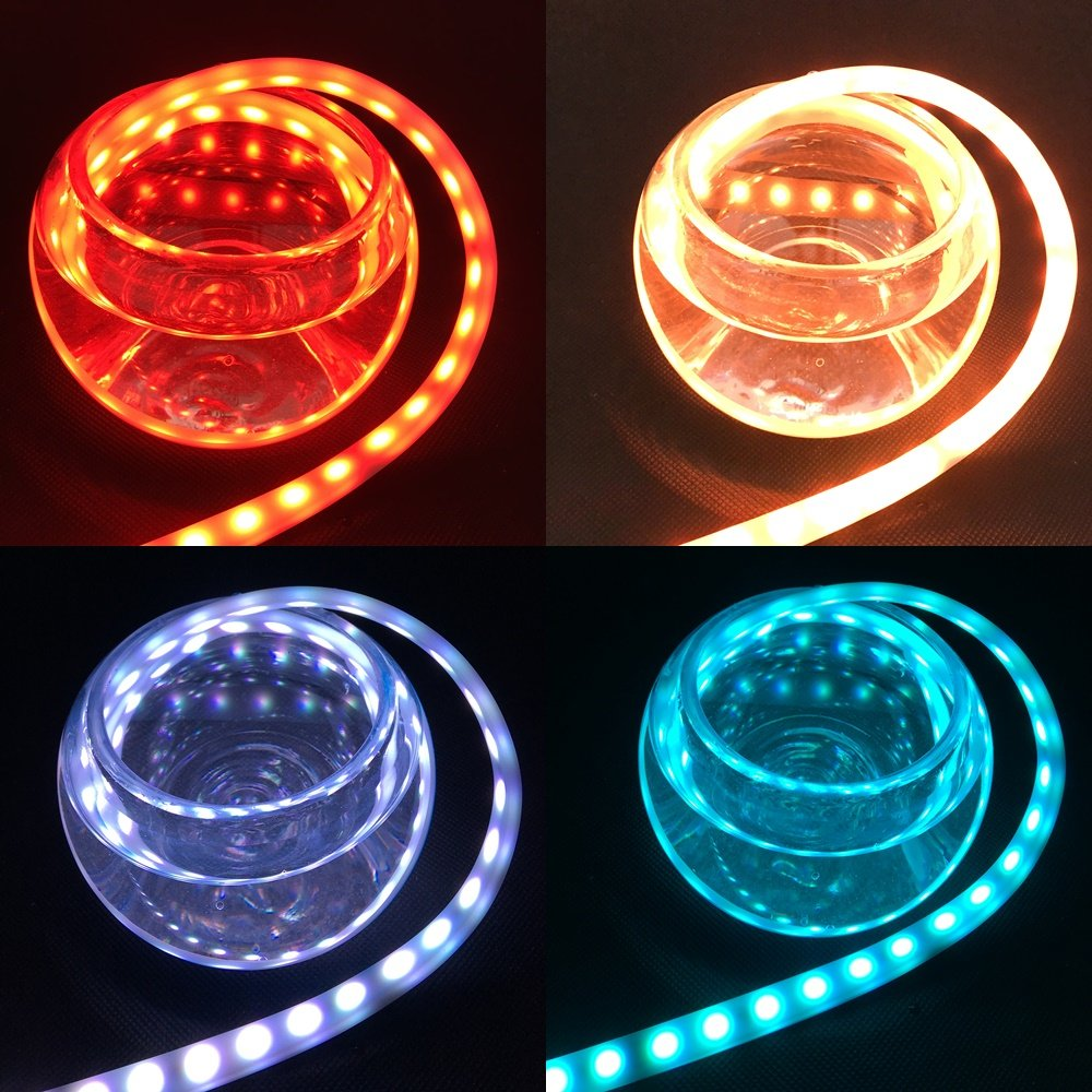 Led Rear Trunk Strip Light Car 120cm 47 4color 12 Volt Wiring Diagram Free Picture Tailgate Driving Brake Turn Signal Reversing Running Flow Dynamic Streamer