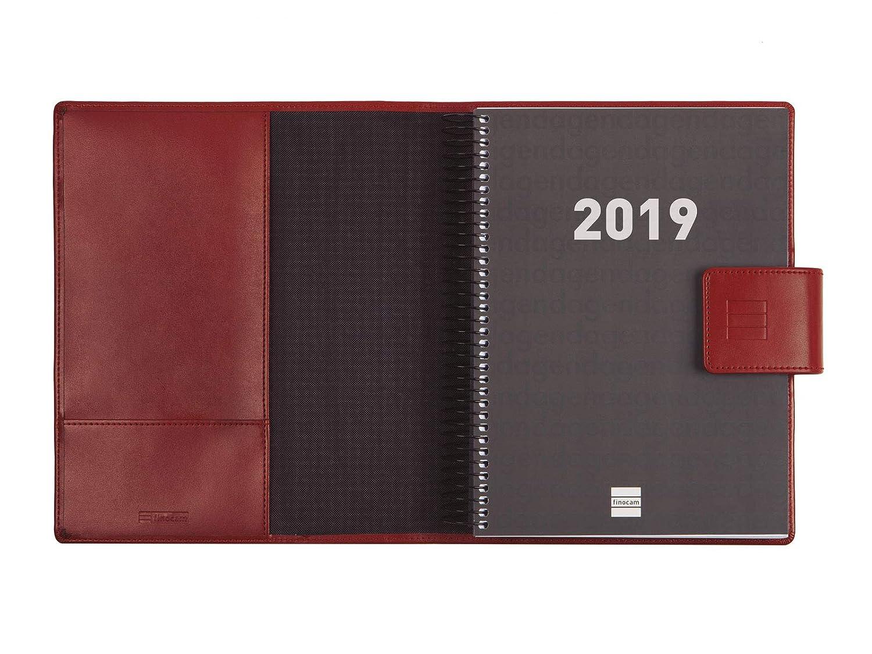 Agenda y bloc de notas 2019 día página español